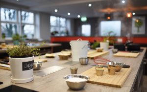 Image of Food Sorcery ready for Cooking together cookery class Didsbury Manchester