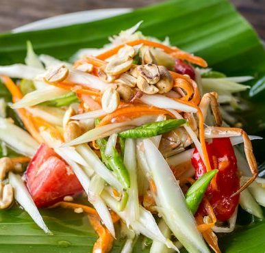 Image of Thai food cookery class at food sorcery didsbury Manchester