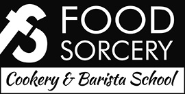 Image of Food Sorcery Logo with Strapline Didsbury Manchester