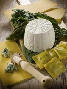 Image of Goats Cheese making at Food Sorcery Didsbury Manchester with Cutting the Curd