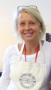 Imge of Louise Image of logo for Cutting the curd at Food Sorcery cookery school cheese making Didsbury Manchester