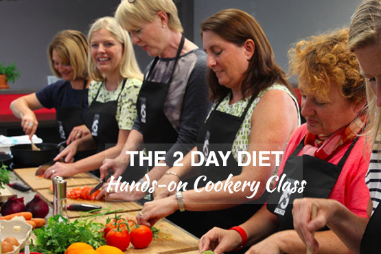 The 2 Day Diet – Cookery Class in support of Prevent Breast Cancer