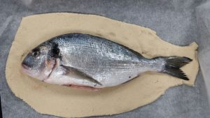 How to make Salt Dough Crusted Fish