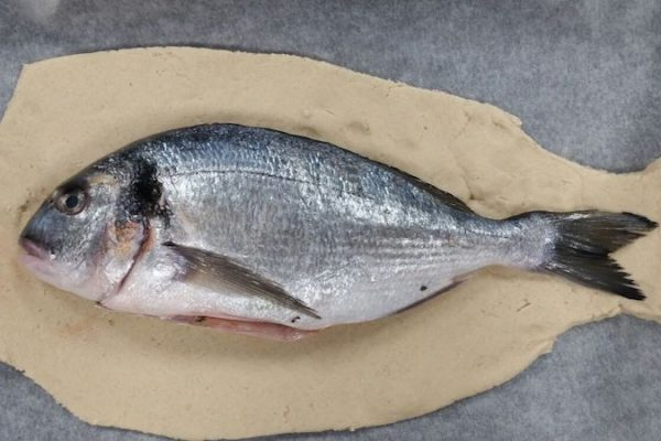 image of whole fish How to make Salt Dough crust Fish at Food Sorcery