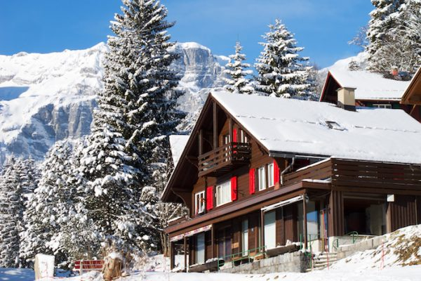 Image of ski chalet to show ski host cookery class at Food Sorcery cookery school didsbury manchester