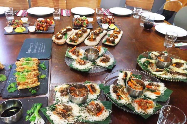 Food sorcery cookery barista school didsbury for Team building cuisine