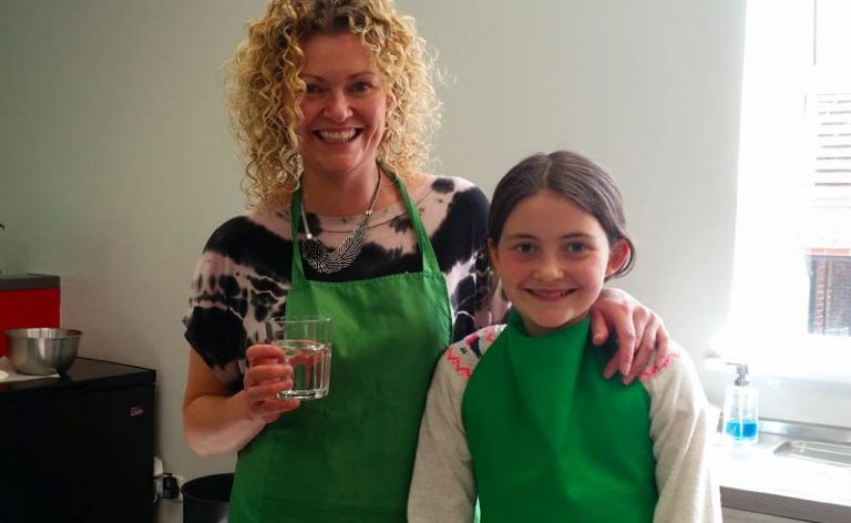image of Big & Little Cooks Lynsey from Living Flowers Didsbury at Food Sorcery