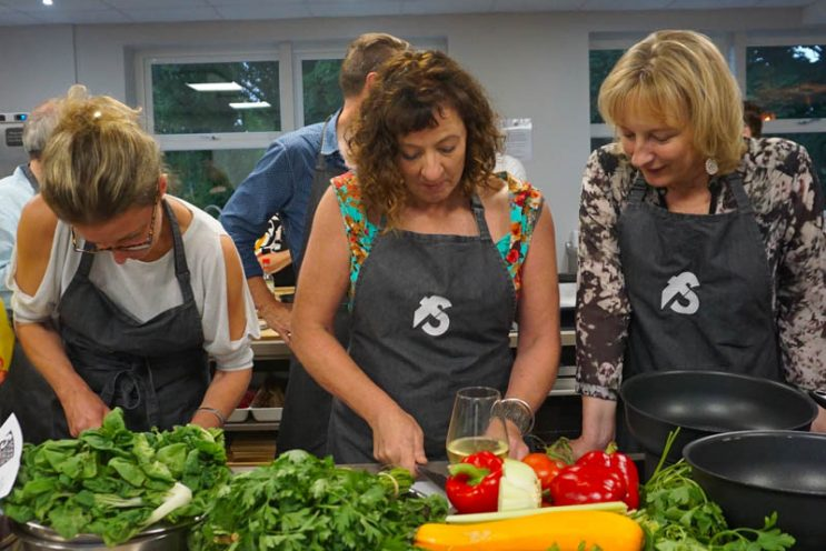 image of Cooking Together concentration at Food Sorcery cookery & barista school Didsbury Manchester