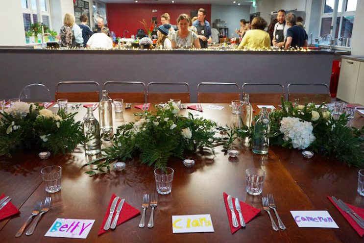 image of Private Dining for 24 people Cooking Together at Food Sorcery Didsbury Manchester