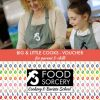 image of Big and little cooks at Food Sorcery give the gift of a cookery voucher