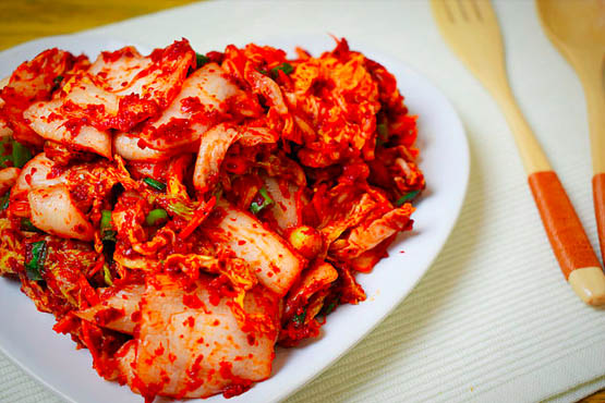 Image of Kimchi made at Food Sorcery Didsbury Manchester how to make Kimchi