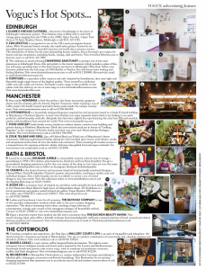 image of Vogues September issue hotspots