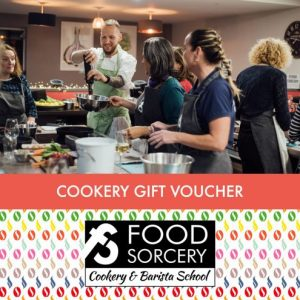 Cookery Gift Vouchers - the gift the keeps on giving