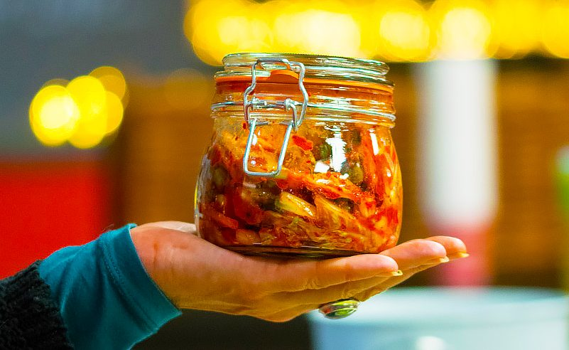 image of Koren BBQ Kimchi for good gut flora and health at Food Sorcery
