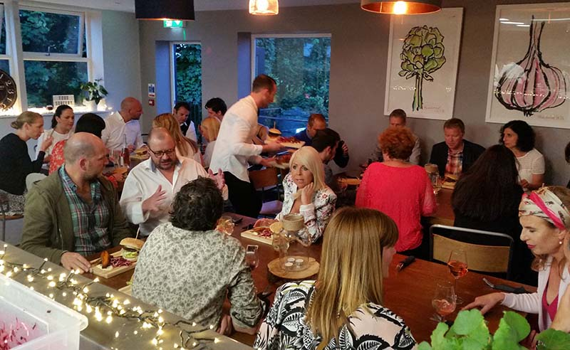 image of pop up foodie events at Food srocery Cookery school Didsbury