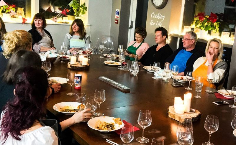 Dining Experience with Cooking Togeteher