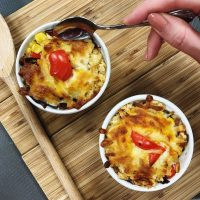 image of baked yam corn and cheese starter recipe cooking together foodie friday night at food sorcery