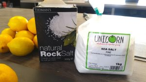 image of how to preserve lemons at Food Sorcery rock salt and fine unicorn grocery