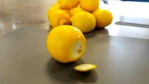 Image of preserving lemons at Food Sorcery cookery school vegan fermented foods didsbury