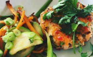 Salmon and Sweet Potato Cakes Recipe