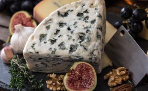 Image of blue cheese and figs at Food Sorcery Didsbury