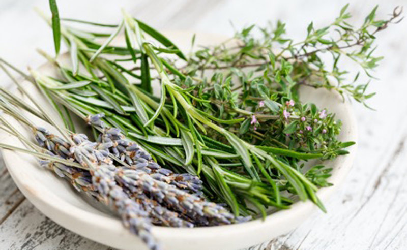 Image of lavender Rosemary and thyme at Food Sorcery Didsbury