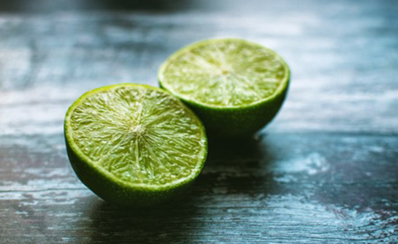 Image of two halves of limes