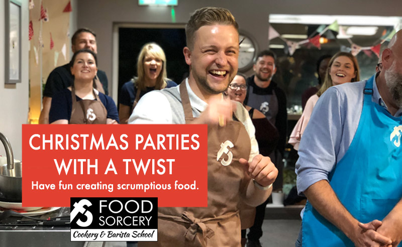 Christmas Parties with a Twist – Create your own scrumptious food