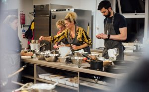 image of Fit Food class ingredient preparation at Food Sorcery, Didsbury