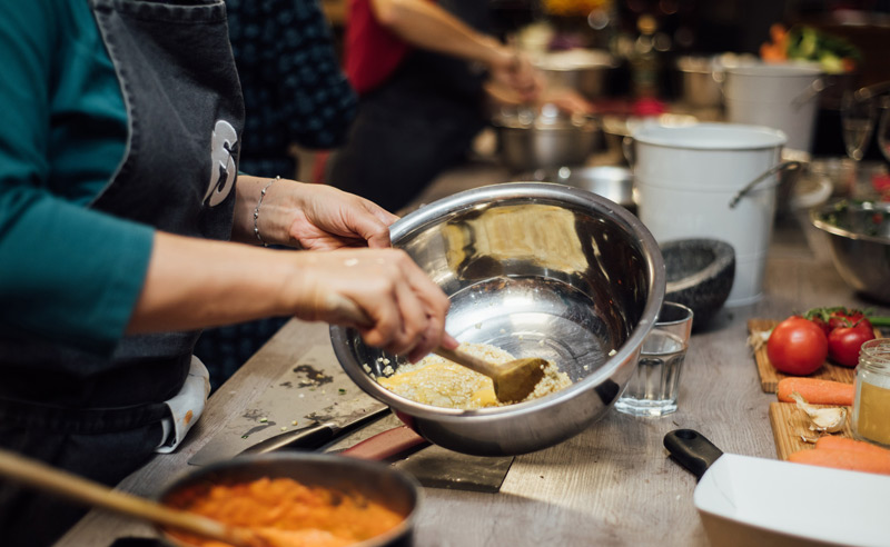 Image of Fit food class mixing bowl at Food Sorcery, Didsbury