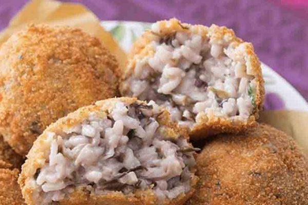 Image of Wild Mushroom Arancini balls at Food Sorcery, Didsbury