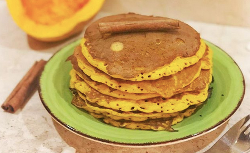 You are currently viewing Protein Pumpkin Pancakes