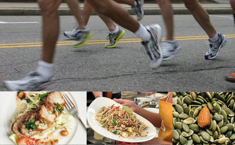 image of Fit food Class for marathon training with didsbury runners and mind manchester