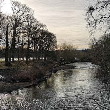 image of the river outside food sorcery cookery school