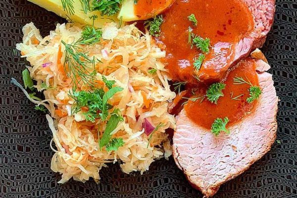 Image of Fit Food Class Sauerkraut on plate at Food Sorcery, Didsbury