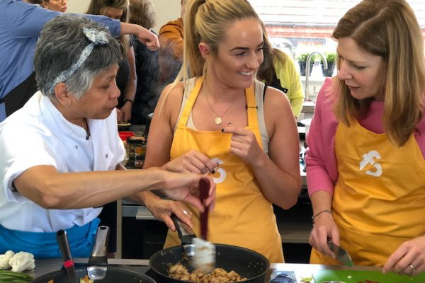 image of Chochaba Harper Thai Ctering at Food Sorcery Thai cookery class