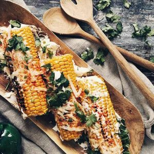 image of cook corn on the cob at food sorcery cookery school