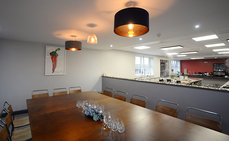 image of space at cookery school didsbury manchester