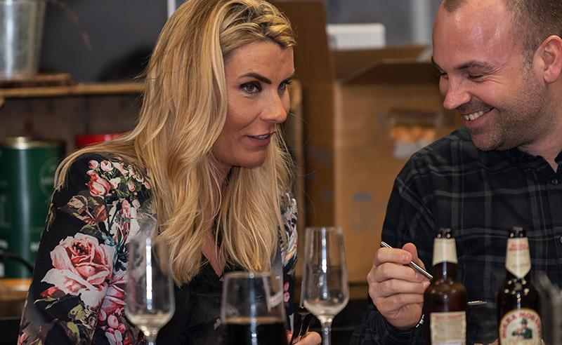 image of couple at chefs table Chochaba Harper Thai Chef cookery class things to do manchester