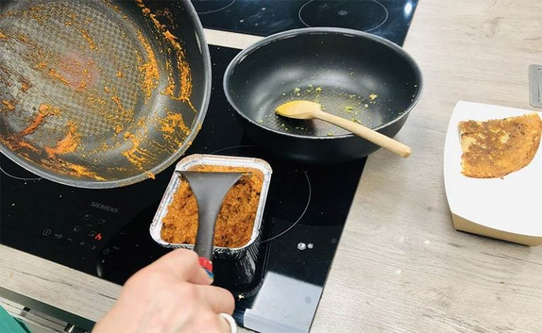 image of pans at healthy eating gluten free cookery class Didsbury