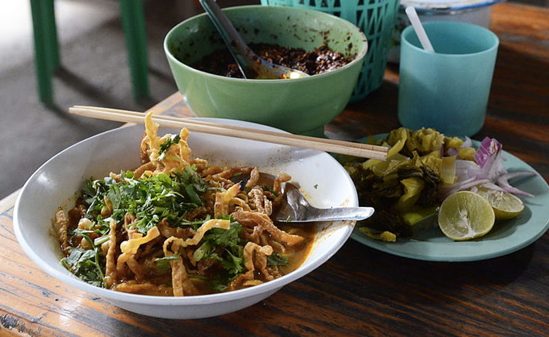 image of Khao Soi Thai cookery class made by Chorchaba Harper