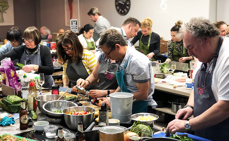 image of charity night masterchef challenge