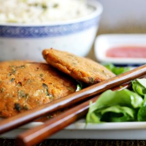 image of thai fishcakes made at cookery classes at food sorcery