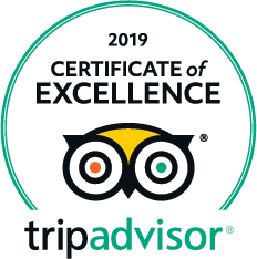 image of Tripadvisor certificate of excellence