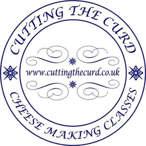 IMAGE OF LOGO FOR Cutting the curd at Food Sorcery cookery school cheese making Didsbury Manchester