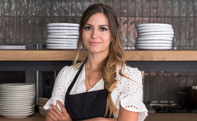 image of visit Copenhagen chef Anna Sogard at Manchester Cookery School