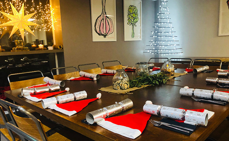 image of christmas parties at the cookery school didsbury