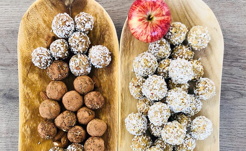 On-the-Go Energy Protein Balls