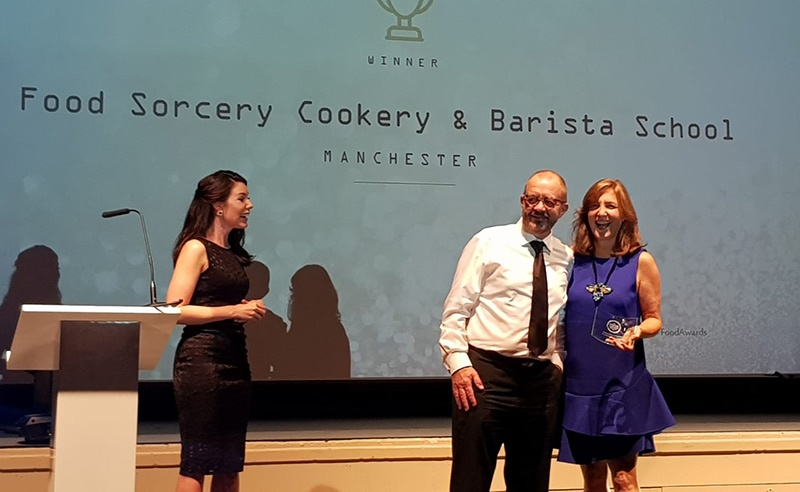 image of cookery school of the year awarding