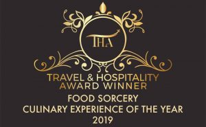 image of winners award for culinary experience of the year the travel and hospitality awards